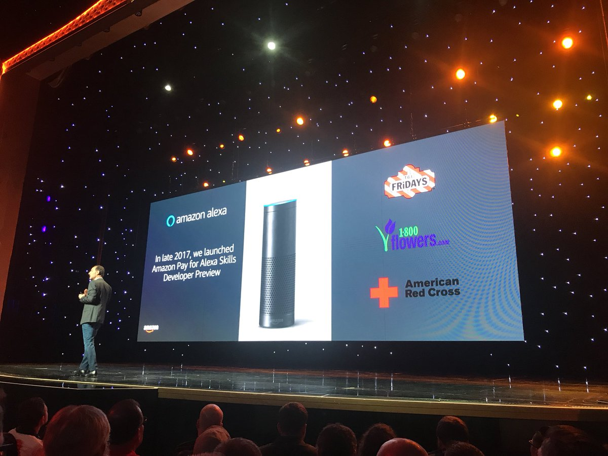 bobbyshaw: Amazon Pay is coming to Alexa, this is a big deal! #MagentoImagine https://t.co/MpupGp19Jb