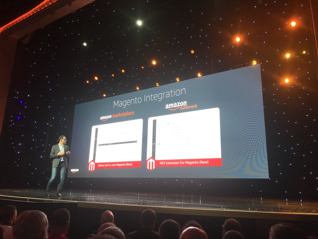 Space48ers: New Amazon marketplace and fulfilment integrations for Magento #magentoimagine https://t.co/Dz9Fu73nXR