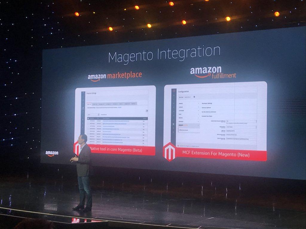 FlorentGuilbard: De nouvelles opportunités #ecommerce avec @Magento et #Amazon ! 😉#MagentoImagine https://t.co/l1u5K26bx7