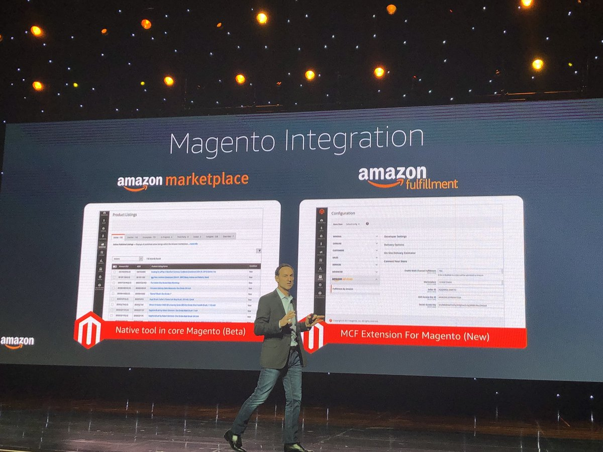 alexanderdamm: This is the new way how to integrate Amazon in #Magento #MagentoImagine https://t.co/Im97m2HX93
