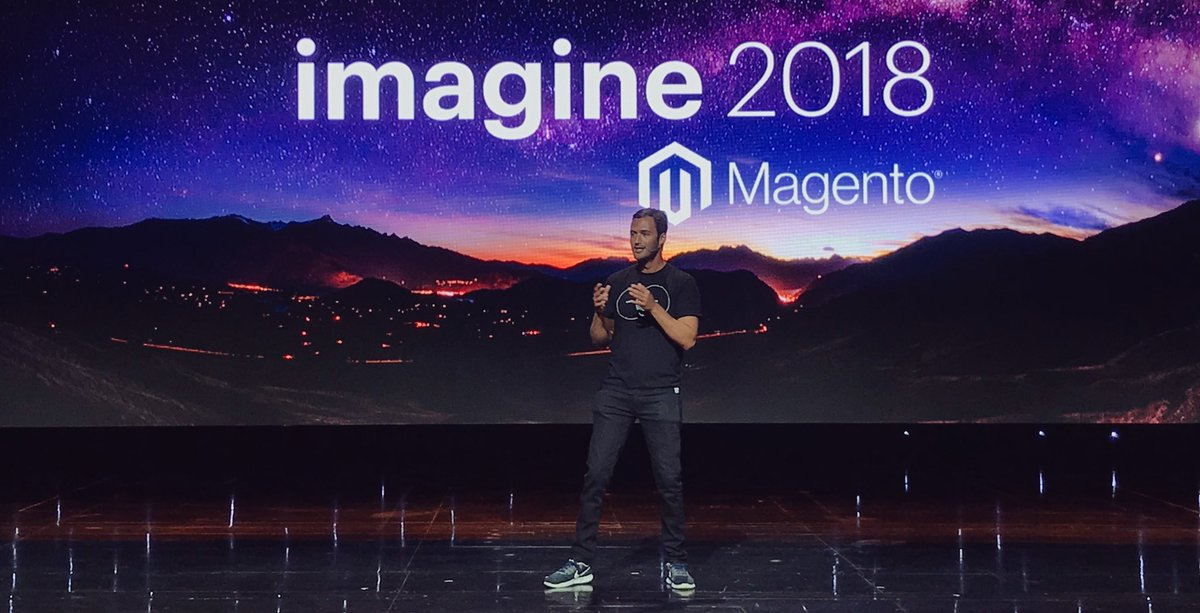 RebeccaBrocton: The future of us is ours to dream up - @JasonSilva. #MagentoImagine #LeadTheCharge https://t.co/Gdo3S6YN2Z