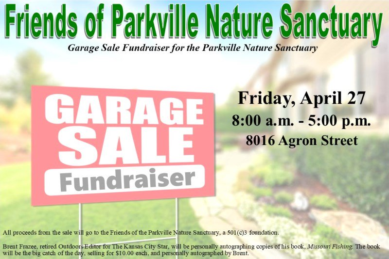 test Twitter Media - Friends of Parkville Nature Sanctuary is having a garage sale fundraiser for the Parkville Nature Sanctuary on Friday (4/27) from 8am-5pm in Riss Lake. Proceeds will benefit the sanctuary. https://t.co/8oamx6fY6c