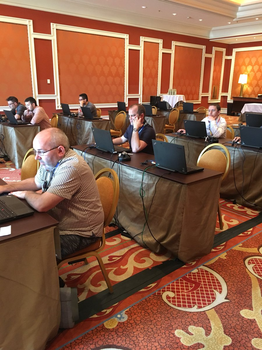PeterManijak: #MagentoImagine #MagentoU certification testing has begun for day 2! A few seats left, get certified today! https://t.co/F86w4205ds