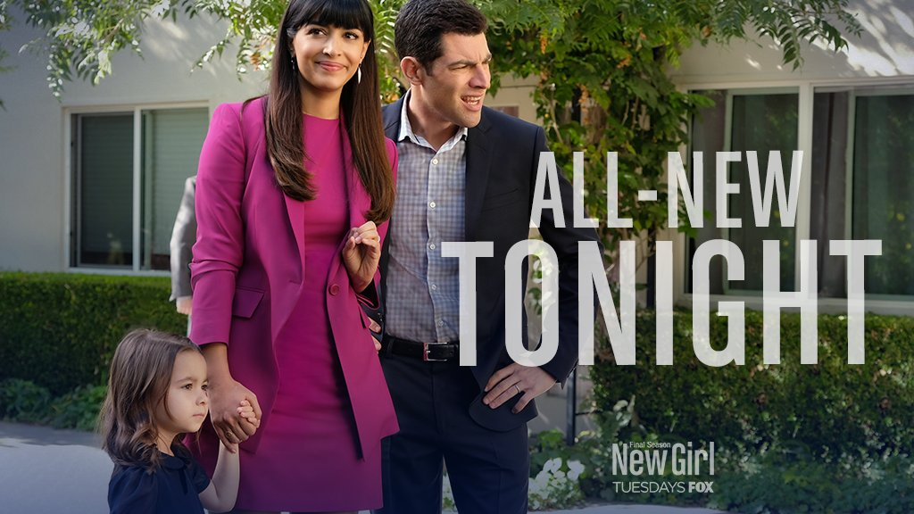 RT @NewGirlonFOX: RETWEET if you're watching a brand-spankin' new episode of #NewGirl tonight at 9:30/8:30c! https://t.co/Uh7eT1fFpU