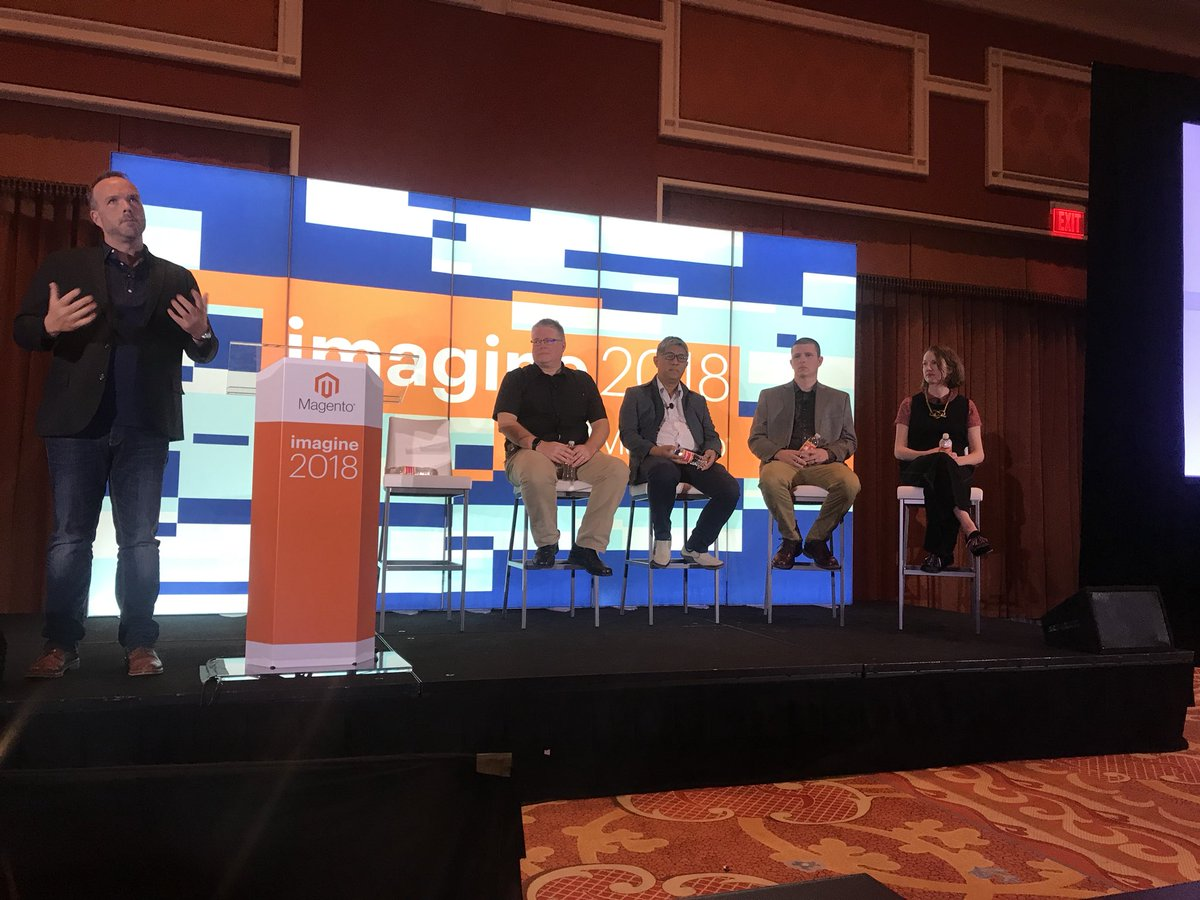bengarvey: Mobile conversion panel at #magentoimagine #gojojo @magentobi https://t.co/VWDdFORN5e