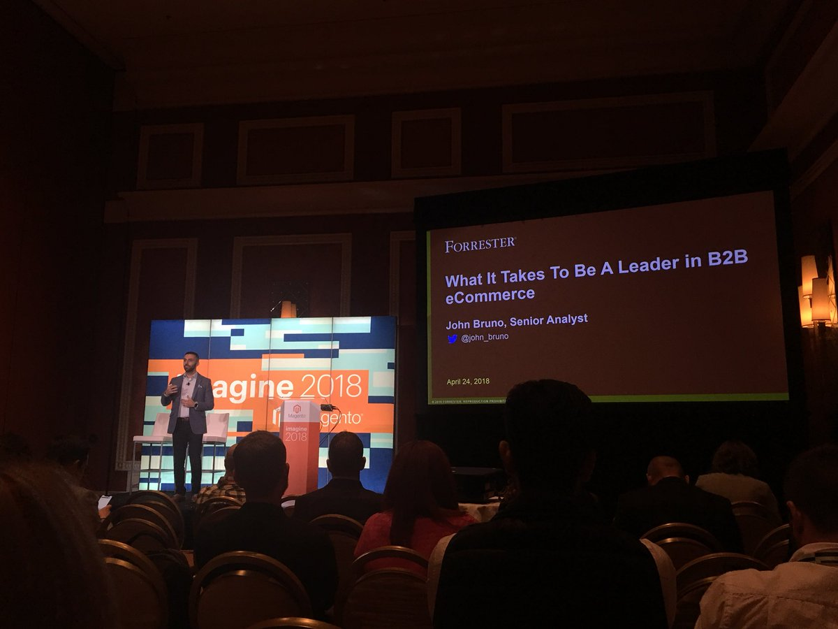wearejh: What it takes to be a leader in B2B eCommerce #MagentoImagine @john_bruno from https://t.co/PfiQaEH9VO
