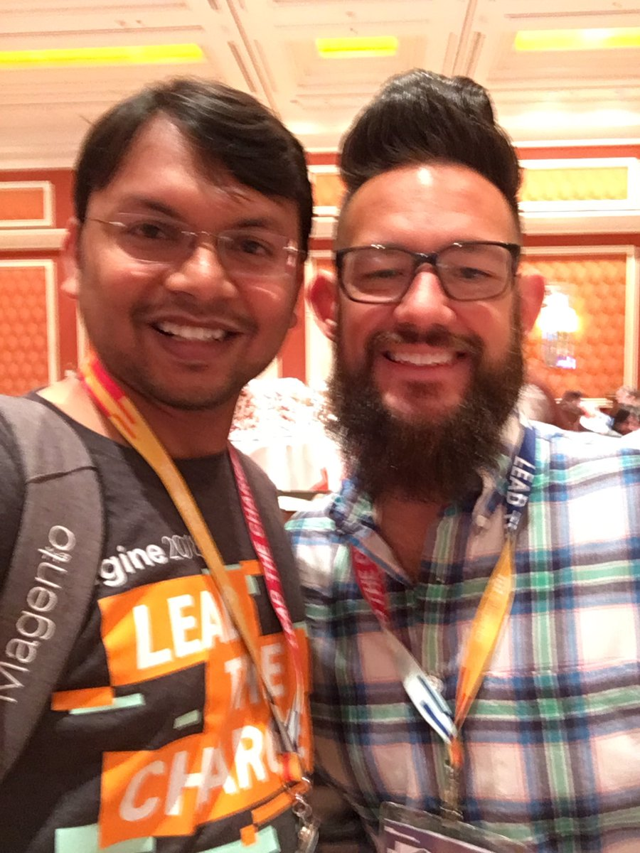 kalpmehta: with @philwinkle #MagentoImagine https://t.co/ocNHZDIp7p