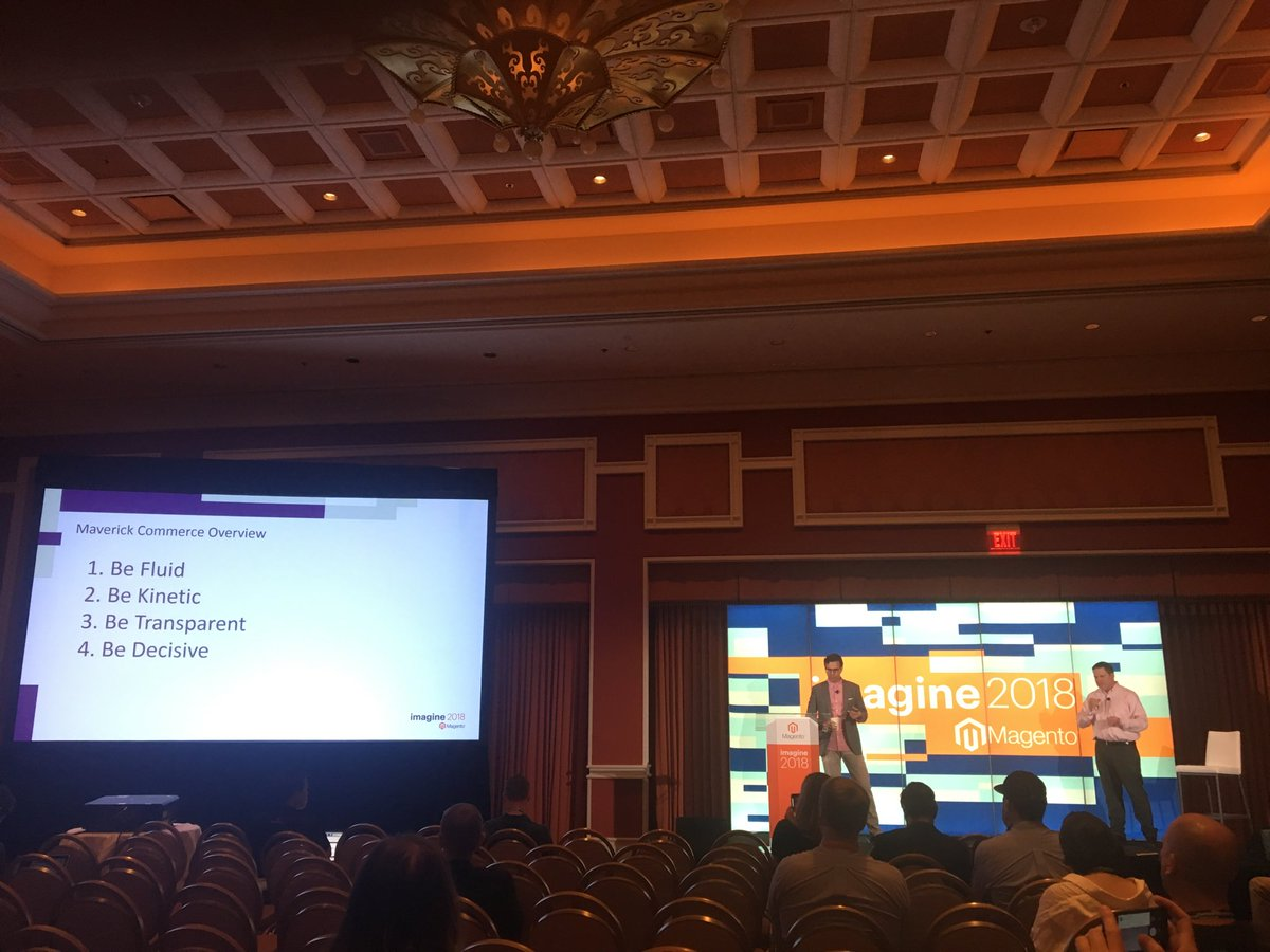 addressytom: @garymediaspa giving us 'Maverick Commerce' w/ Lee @EasySpiritShoes #MagentoImagine https://t.co/qUBYoQIkgW