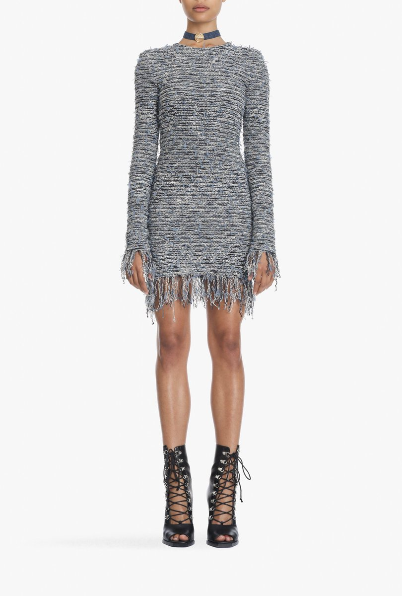 PASTEL TWEED, Shop the tweed #BALMAINSS18 dresses: https://t.co/CNqYrRBfGA https://t.co/HxGWtQkm2O