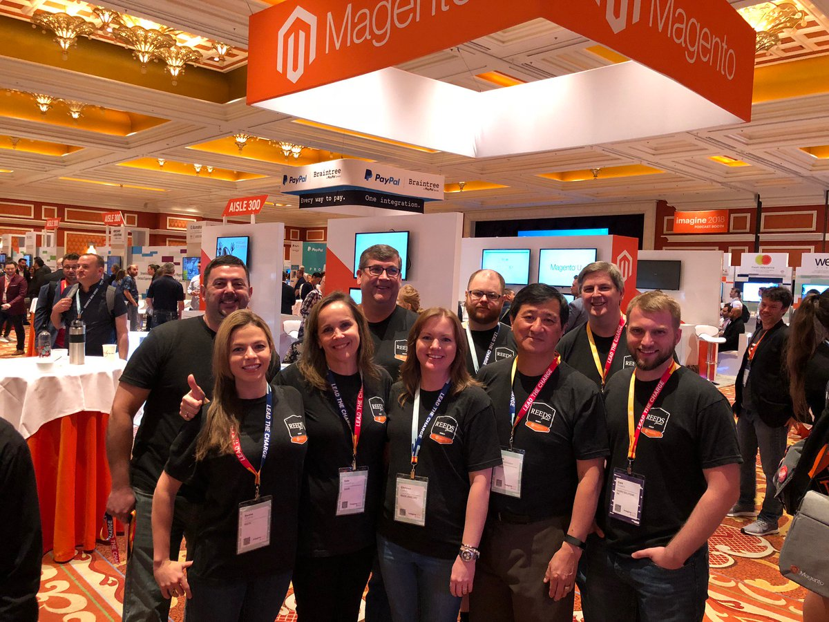 kadro: Celebrating 17 years of ecommerce success at #MagentoImagine with @ReedsJewelersn#magento @magento https://t.co/n6gJFlmdgv