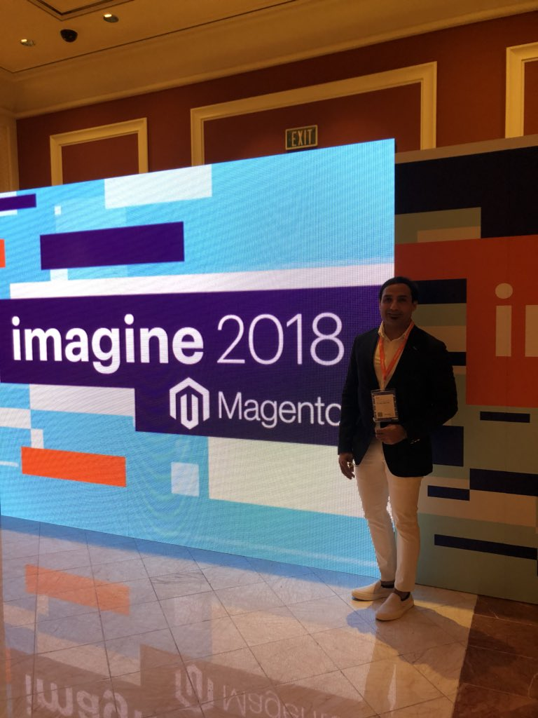 miverma: Day 2 at #MagentoImagine looking great ! Amazing energy around this  place https://t.co/ZsVcsYk1pj