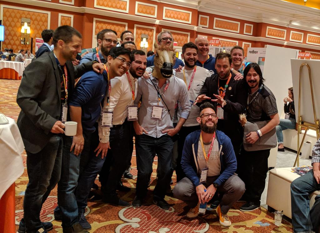nixgore: The #magentoHorse and the #MagentoMasters #MagentoImagine https://t.co/wkzBNV2mlO
