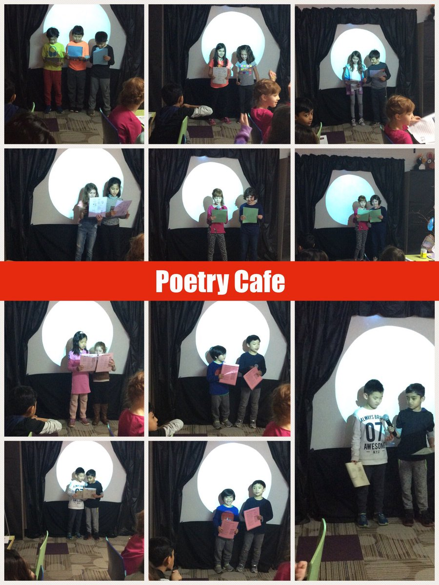 test Twitter Media - Loved hearing poems from @wescott2m and @MicheleMaisel at Poetry Cafe today #d30learns https://t.co/wqhhI671vS