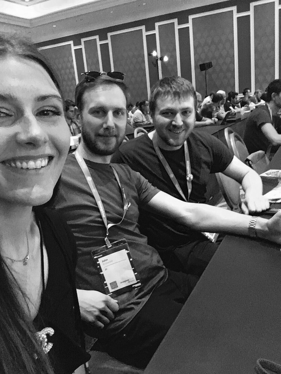 natashagreeny: Technical track ready! Me @knowj and @maxbucknell are ready for the @magento 2.3 announcements! #MagentoImagine https://t.co/MLgS1gpSKx