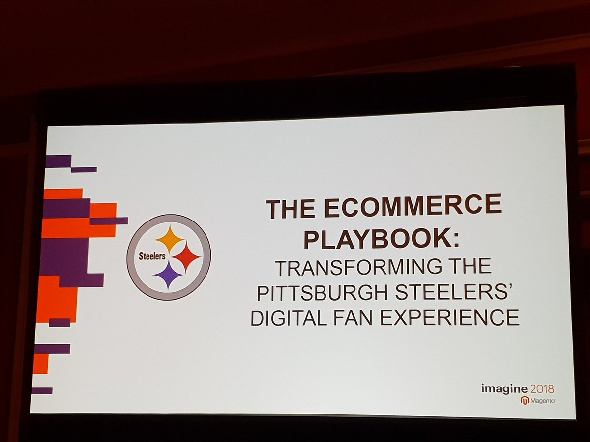 _chris_bauer: As a huge #NFL fan I'm  really looking forward to the session with the @steelers #MagentoImagine https://t.co/bMSbNCvnGR
