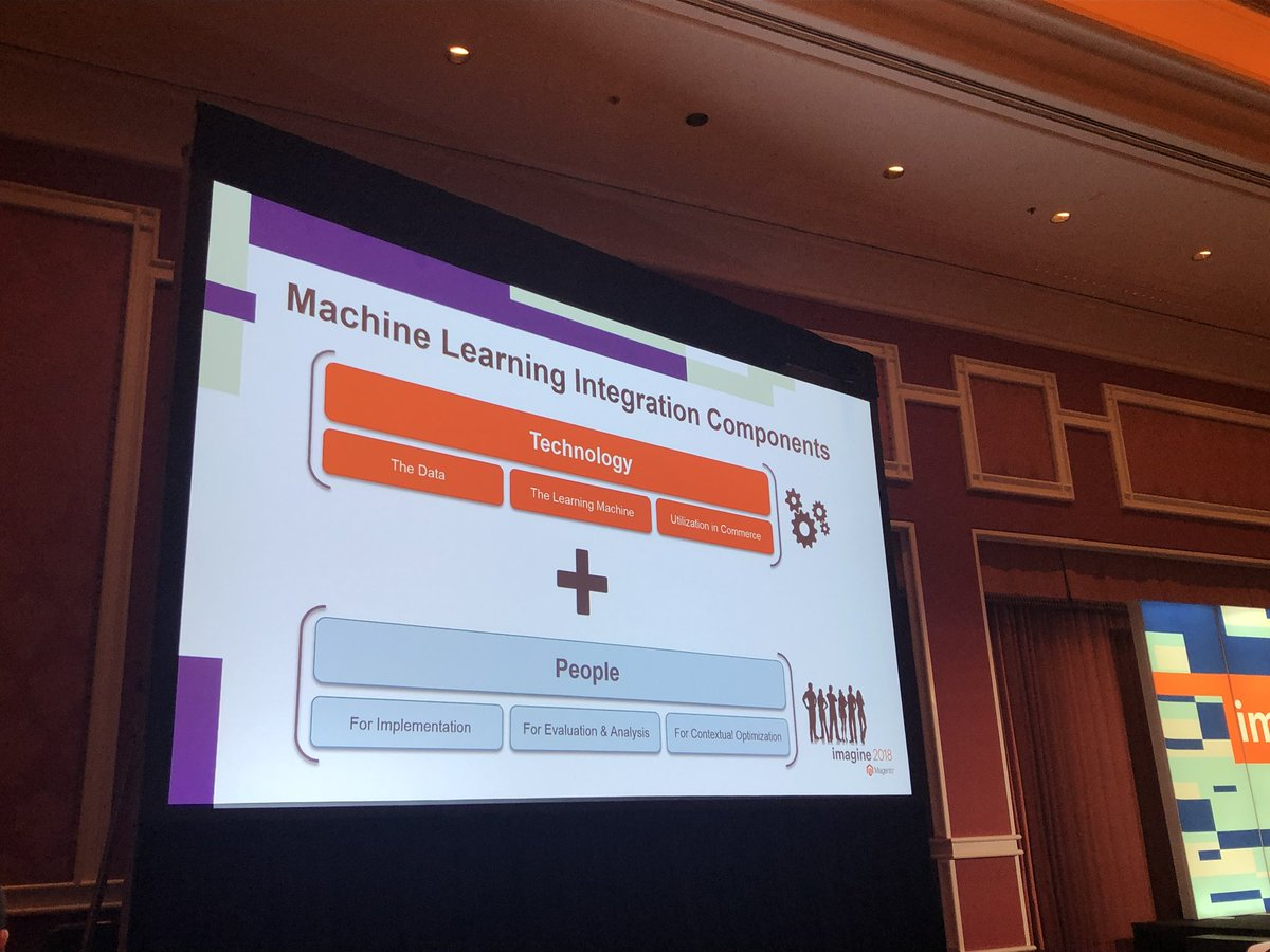 merithansmitt: 'Humans are key when starting a #MachineLearning process' @agarimella #MagentoImagine https://t.co/FlM2nfr3YR