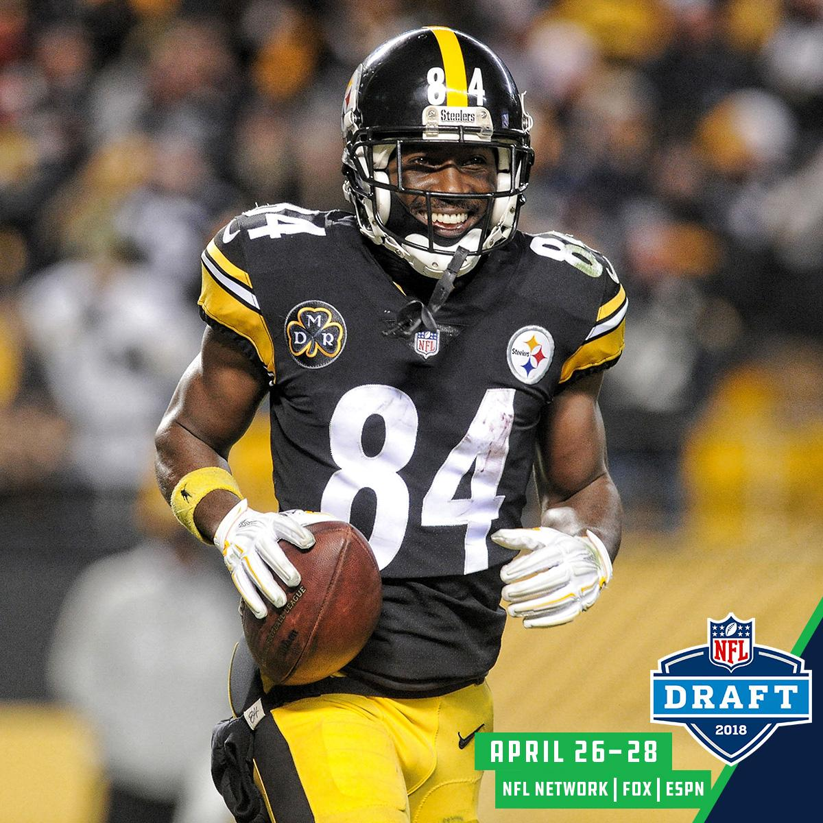 6th round. 195th overall.  Eight years ago today, the @steelers selected @AB84 in the @NFLDraft. https://t.co/y0mfVHnBfG
