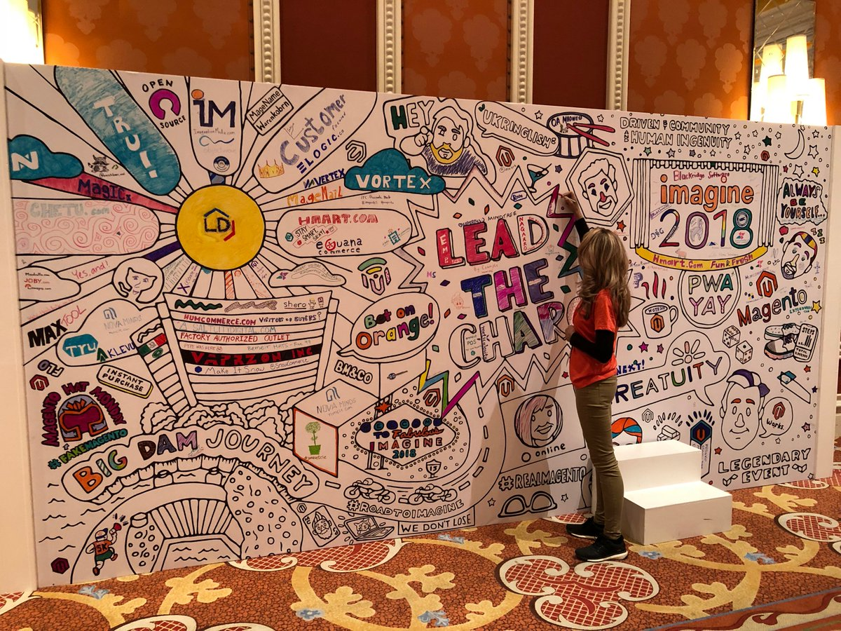 Meticulosity: Getting creative at #MagentoImagine #LeadTheCharge https://t.co/bsQieQOnST