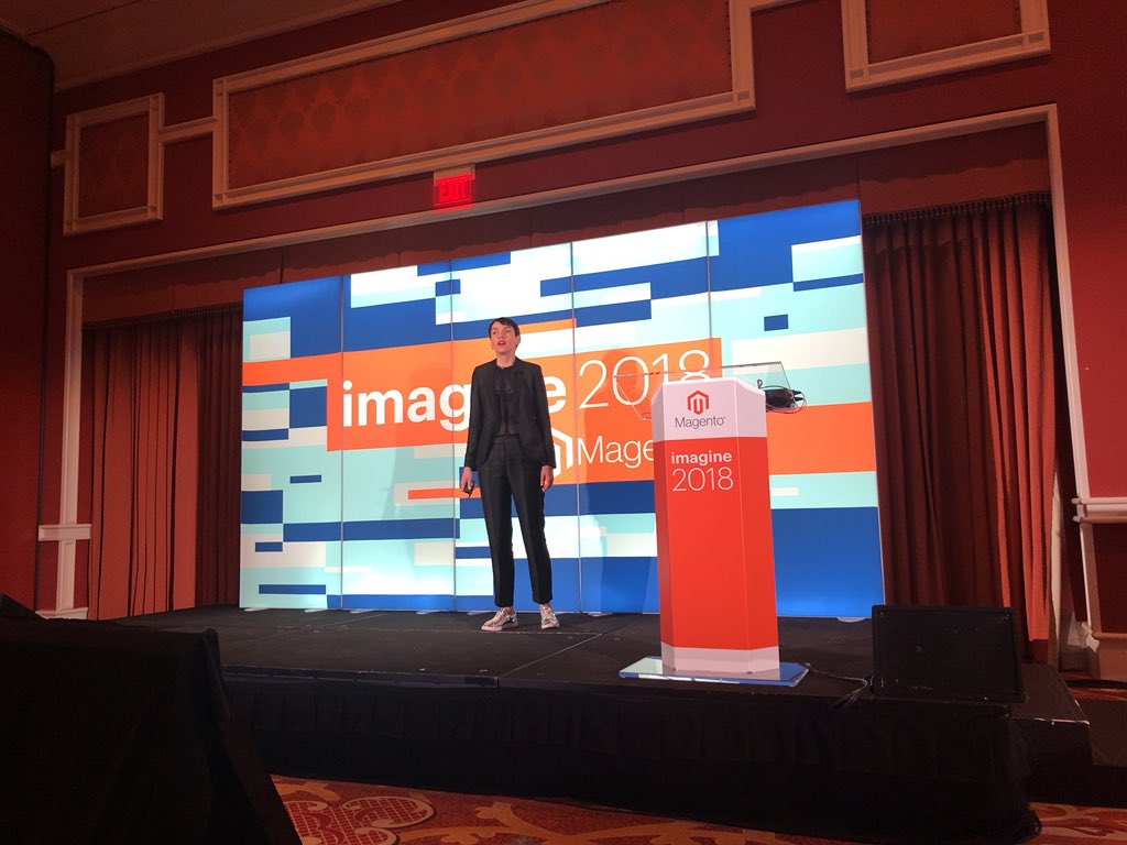 HelloMacaulay: If you're not in Margaux 2 right now you're missing out on some great information about Page Builder #MagentoImagine https://t.co/pog0arvw0S