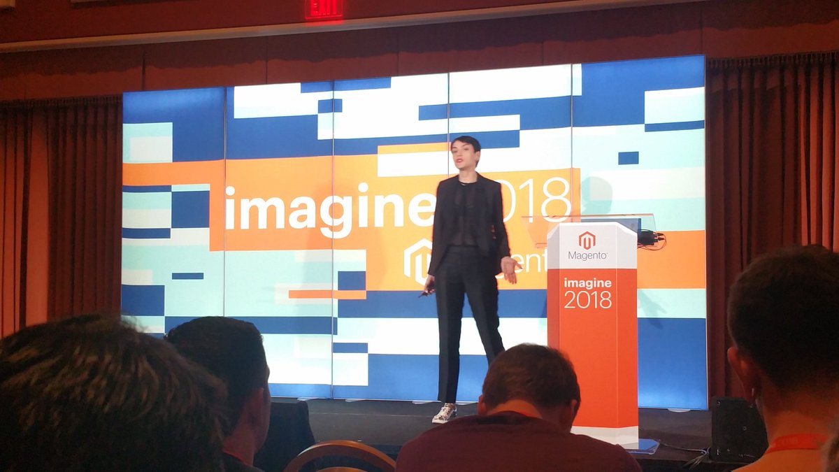 ChrisHedge4: @gella unleashing Magento PageBuilder right now in Margaux 2. #MagentoImagine https://t.co/Vi8C2Dv4Hp