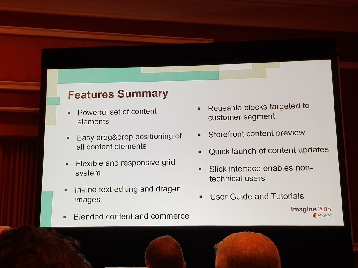 D_n_D: [Magento Imagine] New Magento Page Builder features list #MagentoImagine #MagentoImagine2018 #Imagine2018 #Magento https://t.co/OCnMr0ROdS