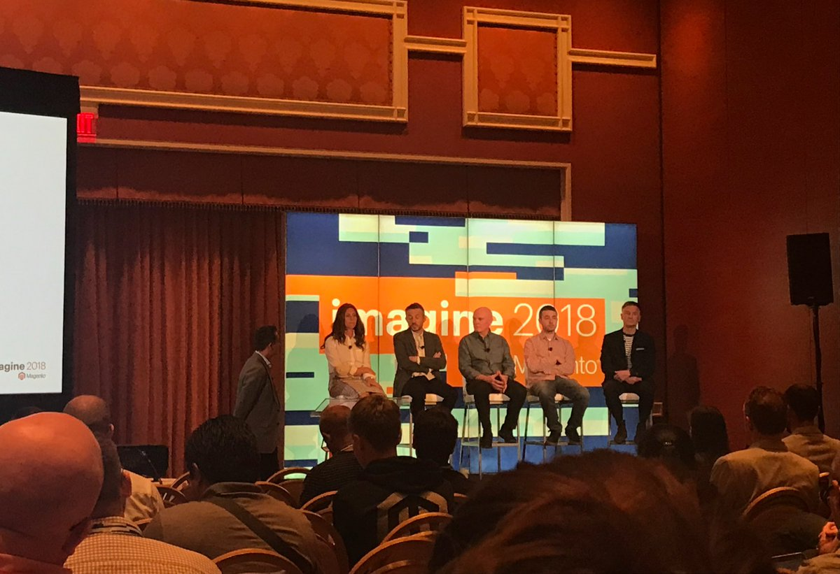 Klettseb: Merchants and SIs sharing their experience with Magento cloud @balanceinternet & @SomethingDigitl #magentoimagine https://t.co/0yGM0uIowL