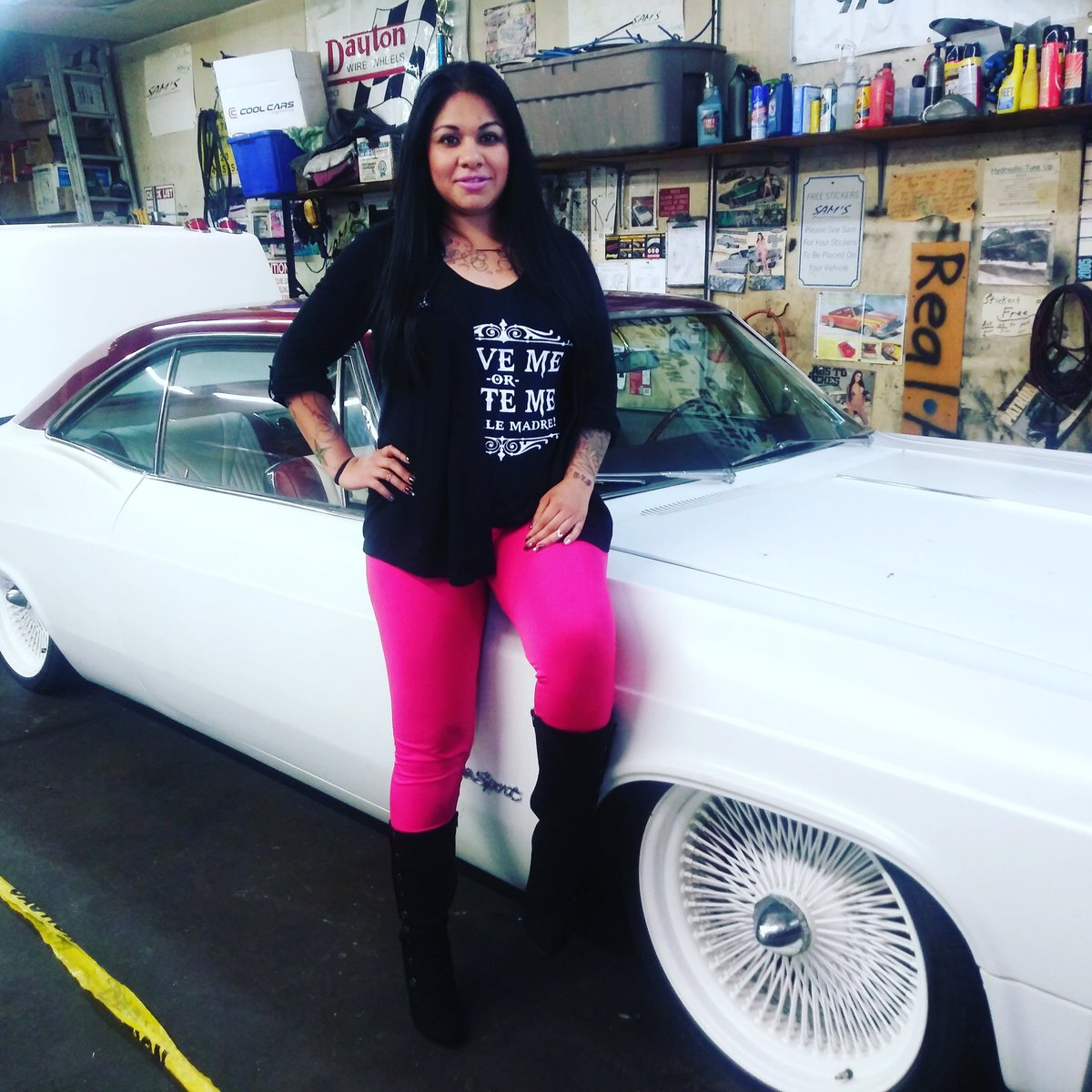 test Twitter Media - 😉😘 looking to get some custom work done on your whip get at Sams Kustom Hydraulics  the best in Colorado 👌 #SexiLexi #SLTEmpire #colorado #lowrider #cars #whips #custompaint #hydraulics https://t.co/mBXyUp5tfl