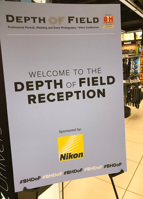 @BHPhotoVideo: Welcome to our B&H  Depth of Field Reception!!  Cheers to Day 1!  See the Full Day 2 LineUp: https://t.co/ZUMi99mUTy https://t.co/p7VeRsZVlf