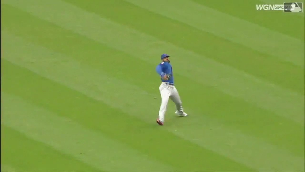 You need a perfect throw to get Rajai Davis.  Jason Heyward delivered. https://t.co/1qgRWeXGeP