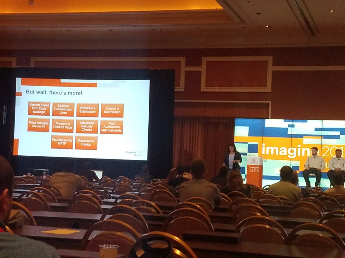 buskamuza: New in #magento marketplace extensions submission in Mouton #MagentoImagine https://t.co/xGvk4lnnPA