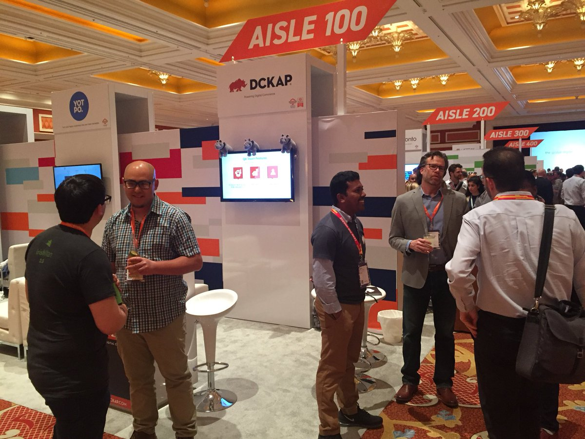 DCKAP: Sponsors marketplace reception starts #MagentoImagine https://t.co/pSMFnWGo4p