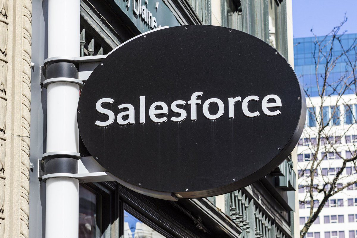 """""""We see tremendous opportunity salesforce"""