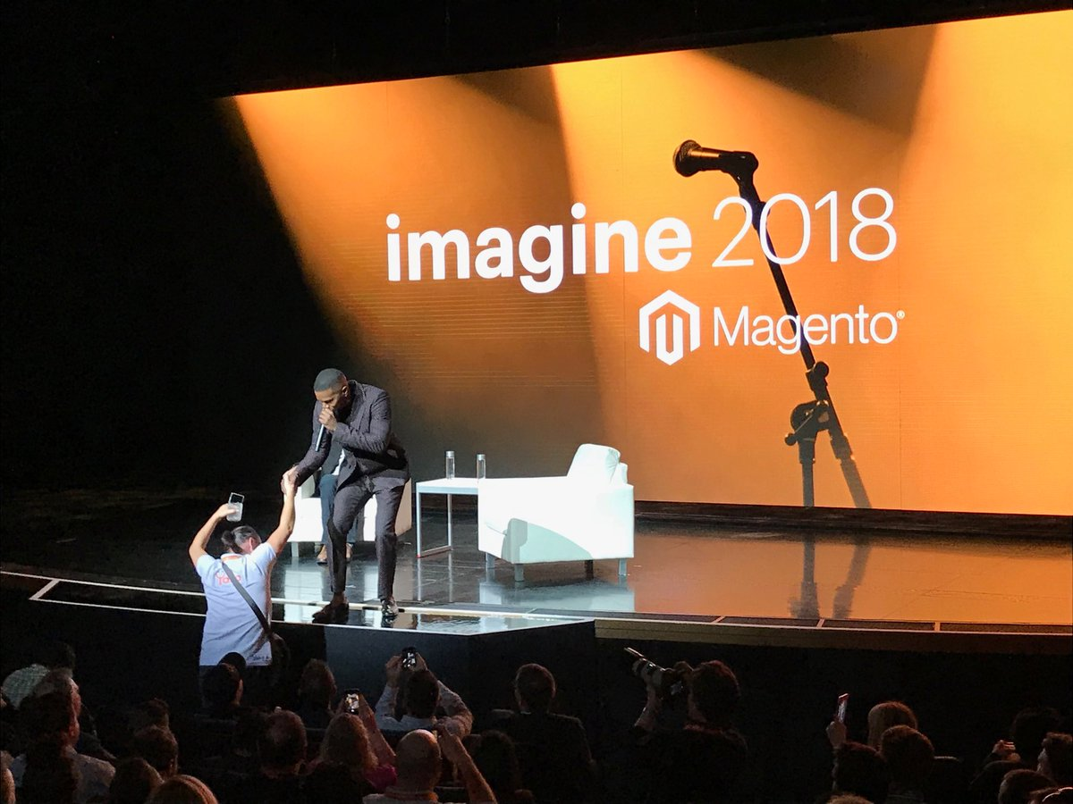 brentwpeterson: Killinit #MagentoImagine https://t.co/WS5HuFe14m
