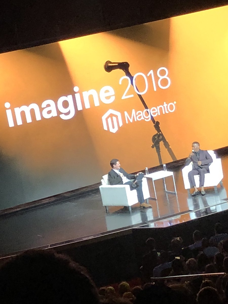 WebShopApps: Okay all hell just broke loose with @jamiefoxxUS #magentoImagine. @mklave1 stepping up to the plate on this one! https://t.co/gaHgC6aNxP
