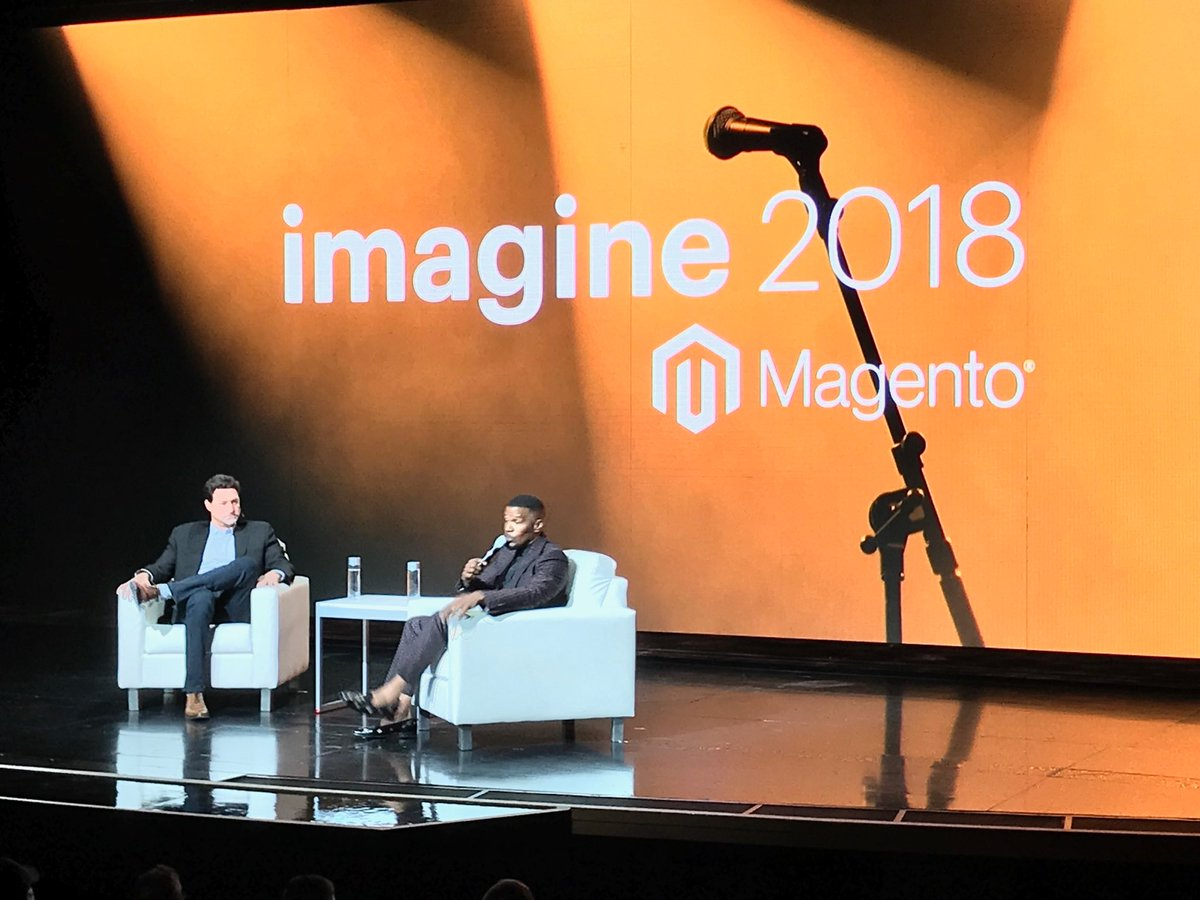 brentwpeterson: What's on the other side of fear .... nothing #MagentoImagine https://t.co/6vWCV1MBjl
