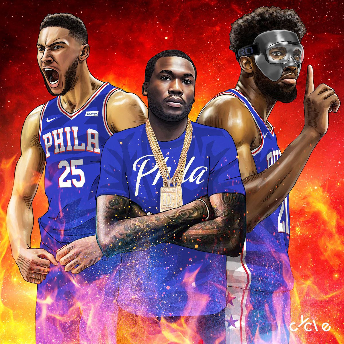 bycycle sixers