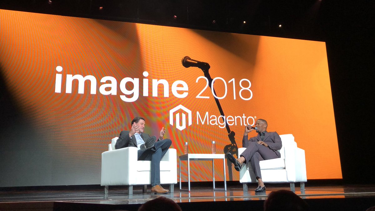 jerry_bergquist: Jamie Foxx is in the house. #MagentoImagine https://t.co/QeApiZvBQ7