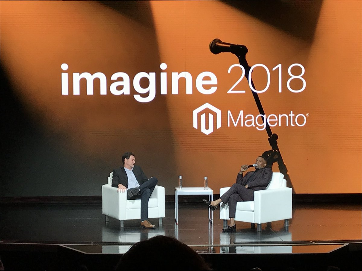 krzysdan: Robert De Niro and Samuel L Jackson on stage for #MagentoImagine https://t.co/K2z5zi4YNd