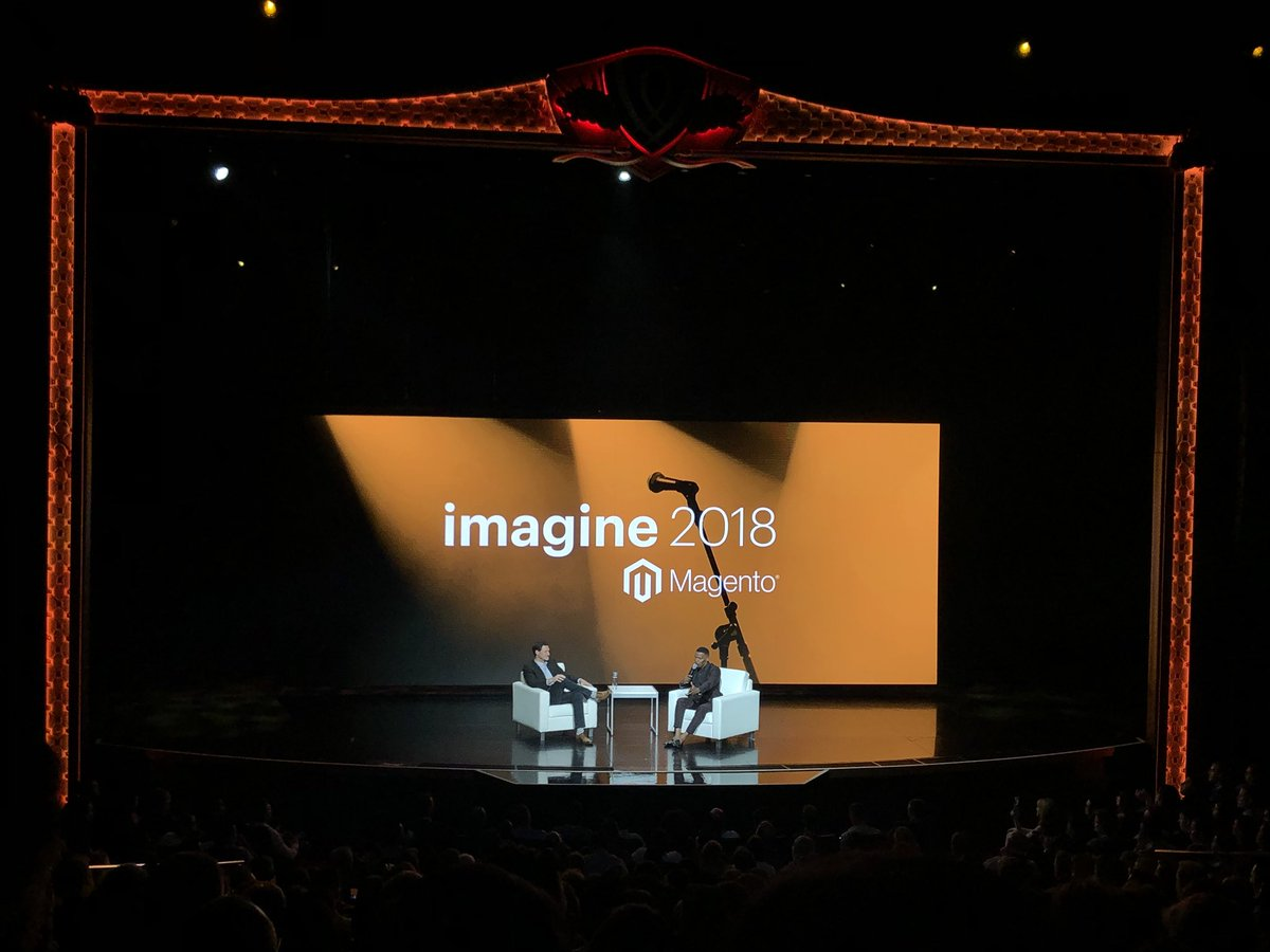 vaimoglobal: Excited to see @iamjamiefoxx on stage at #MagentoImagine https://t.co/n4IAS9Lt2B