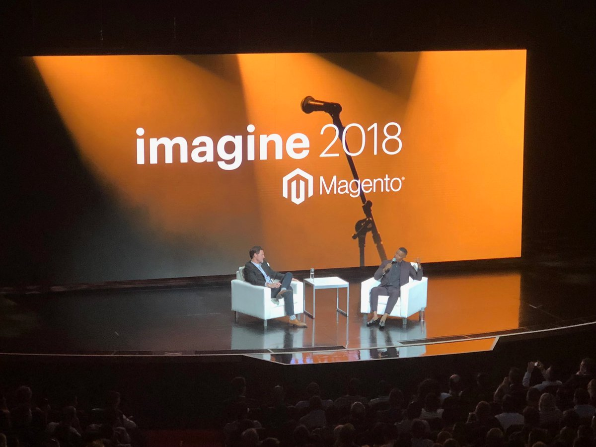 mattmac: Best #MagentoImagine keynote ever.  @mklave1 @iamjamiefoxx https://t.co/22xfNyoYVj