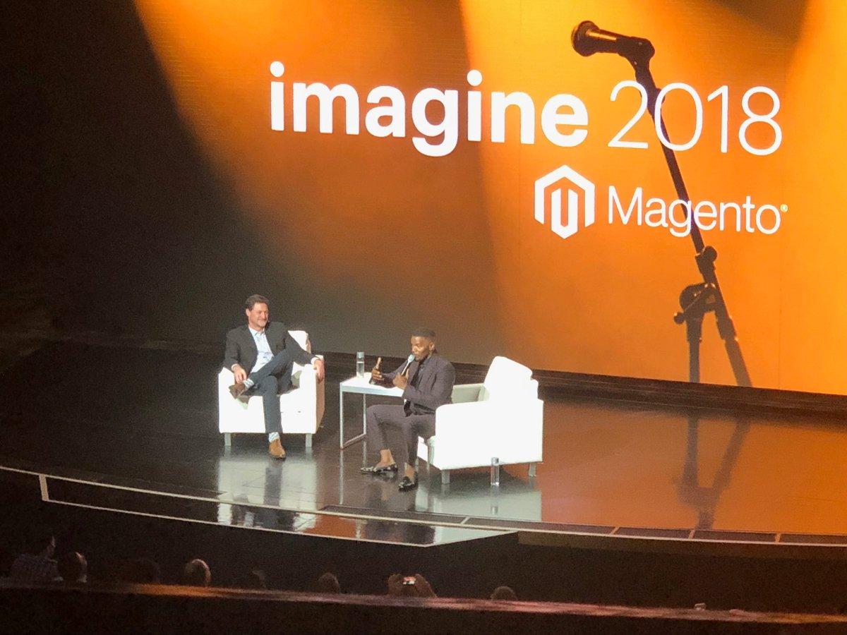 ArtPugachev: @iamjamiefoxx that was cool at #magentoimagine https://t.co/gMuK0NXTFe