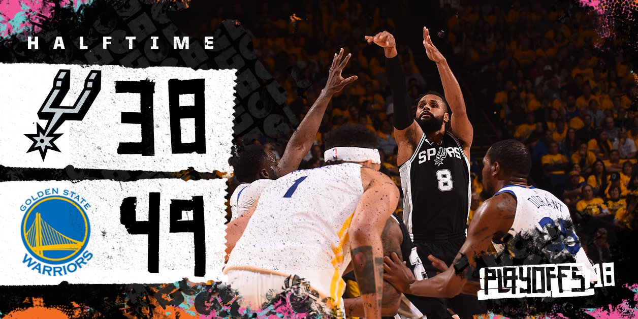 Halftime in Oakland. https://t.co/vuccEci2VB