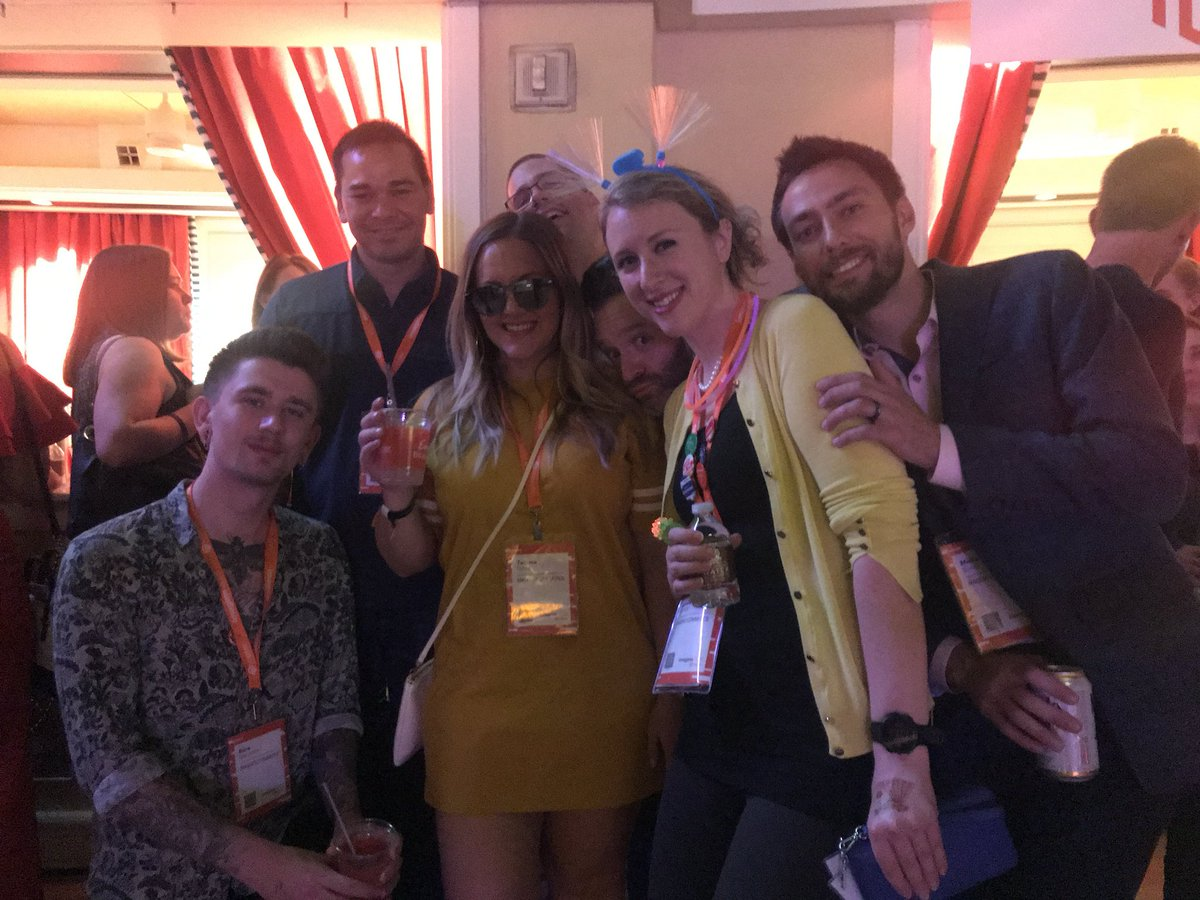 HelloMacaulay: Such great colleagues @magento #MagentoImagine https://t.co/XgcWagpJOm