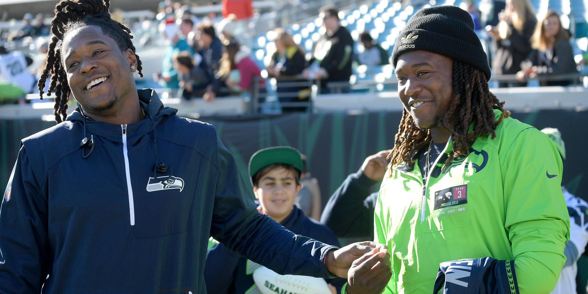 .@Shaquemgriffin + @ShaquillG.  Plus seven more @NFLDraft prospects with family ties: https://t.co/rvnq35Tkug https://t.co/loD2U8b61R