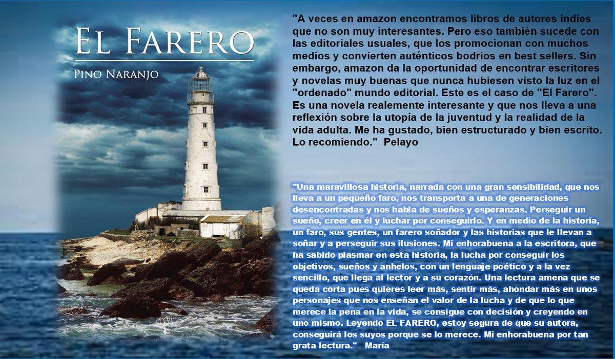 Una #historia emotiva, con sabor a #leyenda épica. _EL FARERO_, de @Pino_Naranjo https://t.co/RB7AZBO8Jc https://t.co/uwim1Lfckt