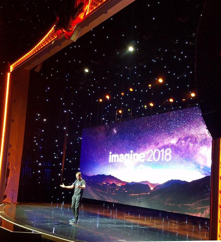 Sam_ecommerce: And another one inspiring speech from Jason Silva. n#MagentoImagine2018 #MagentoImagine #Magento https://t.co/CYFR6bL6AX