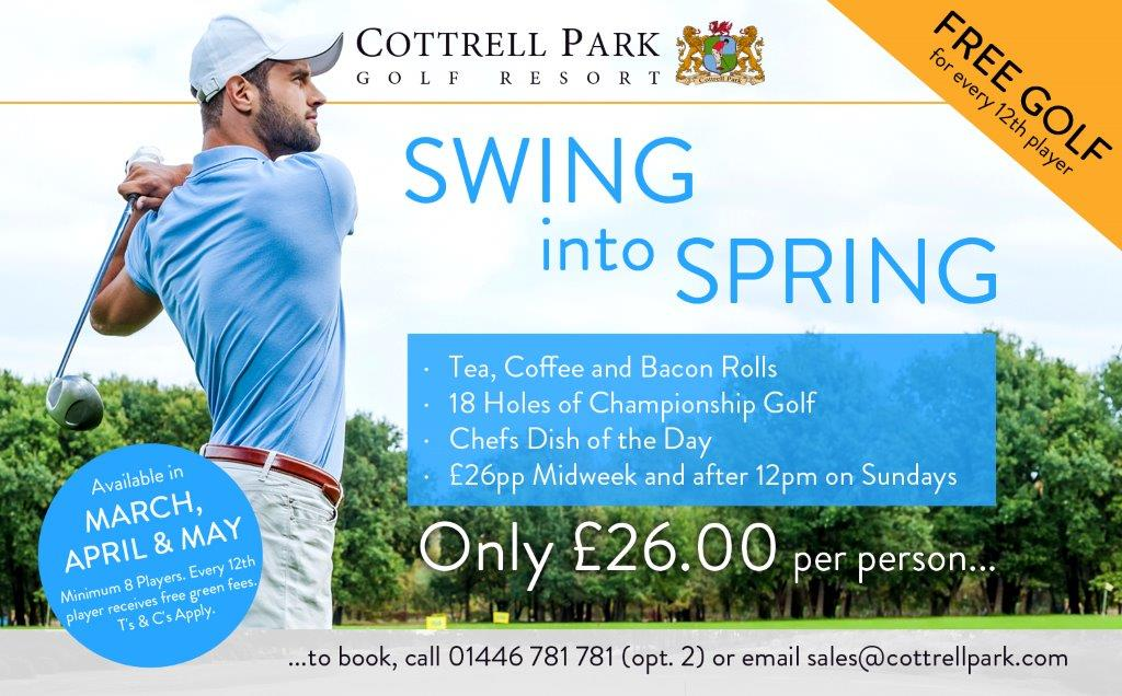 test Twitter Media - * S O C I E T Y  O F F E R*  Now that the Sun is finally out why not take advantage and book a Society day with us . For groups of 8 and above this deal is amazing!! . Call 01446 781781 Option2 or email sales@cottrellpark.com https://t.co/vtTyn2cixb