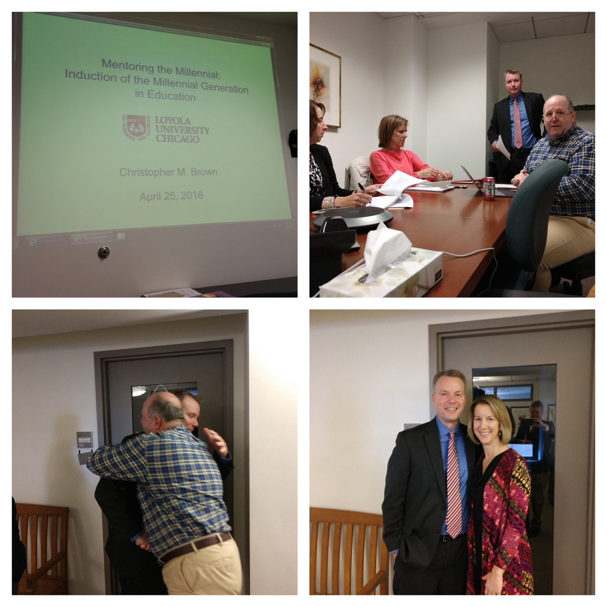 test Twitter Media - Congratulations to Dr. Brown who successfully defended his dissertation this morning! #D30learns https://t.co/Fcb9bVg3Ov