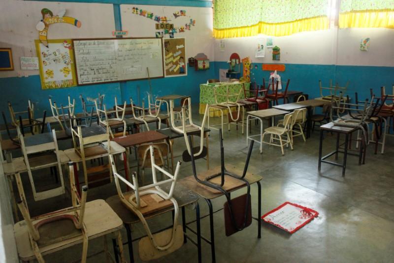 Venezuelan schools emptying as Chavez legacy under threat https://t.co/q6jAzNey4N https://t.co/i5zsX010WY