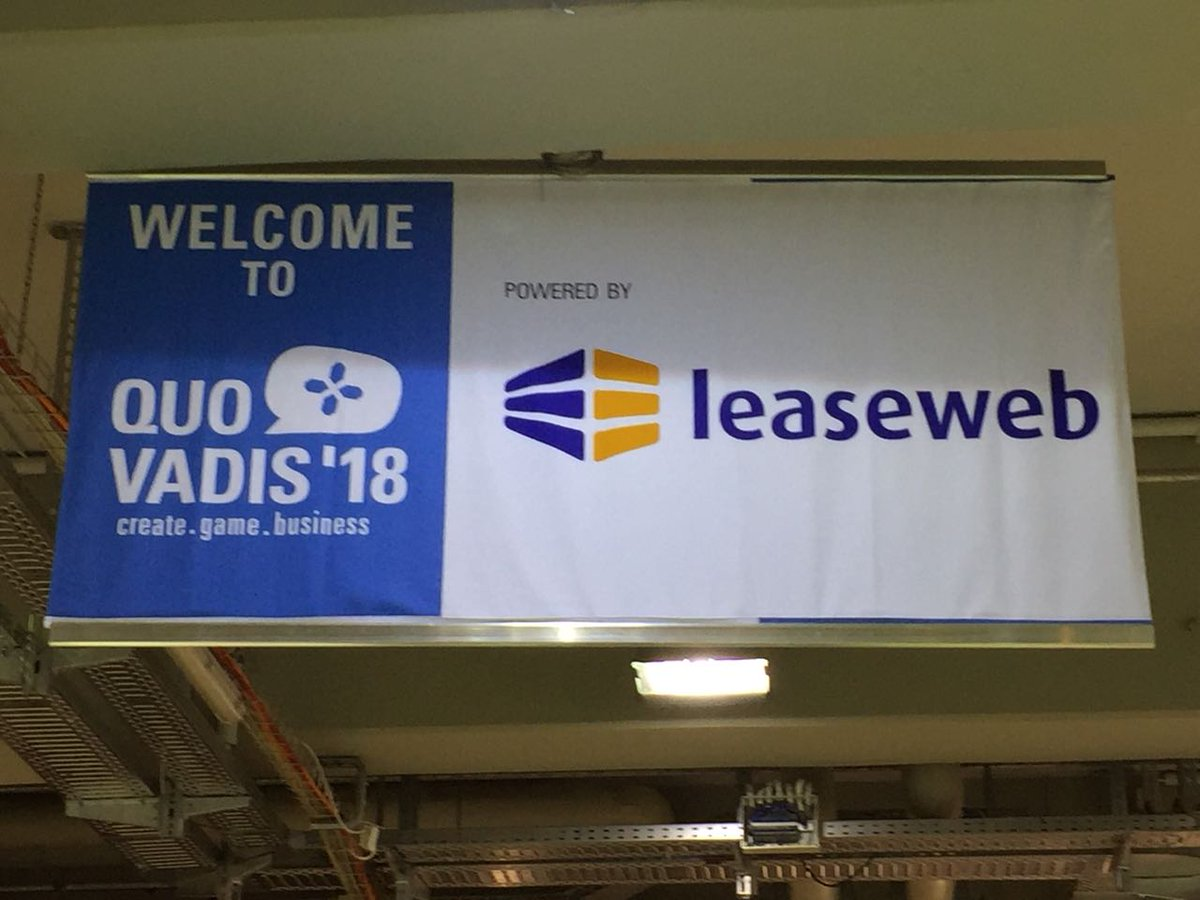 test Twitter Media - The @Leaseweb team is at @quovadis_conf! Come join us and our experts at booth 3 https://t.co/E2amtNfQSl #Gaming https://t.co/FSY3yqdlDE